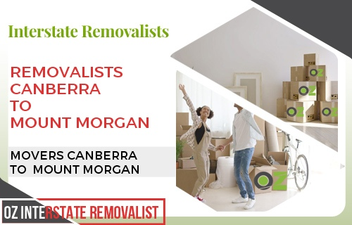 Removalists Canberra To Mount Morgan