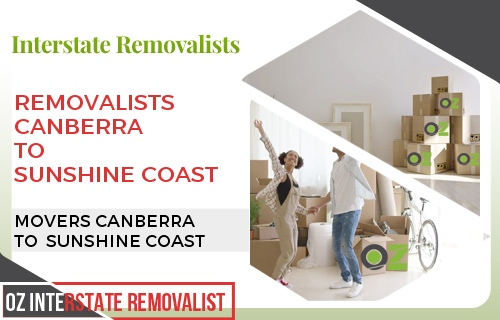 Removalists Canberra To Sunshine Coast