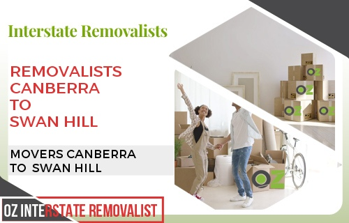 Removalists Canberra To Swan Hill