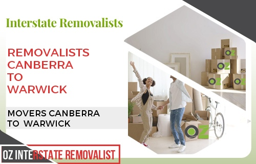 Removalists Canberra To Warwick