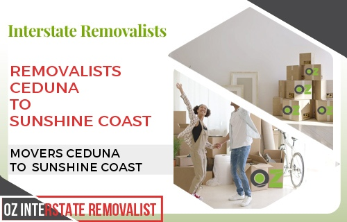 Removalists Ceduna To Sunshine Coast
