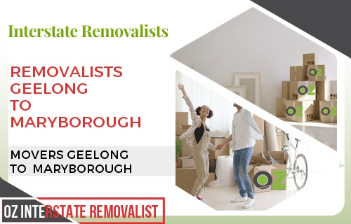 Removalists Geelong To Maryborough