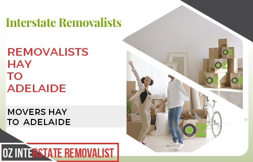 Removalists Hay To Adelaide