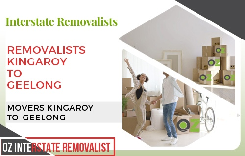 Removalists Kingaroy To Geelong