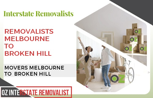 Removalists Melbourne To Broken Hill