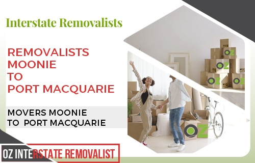 Removalists Moonie To Port Macquarie