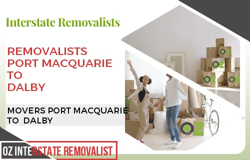 Removalists Port Macquarie To Dalby