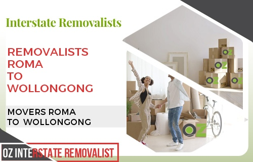 Removalists Roma To Wollongong