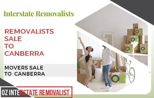 Removalists Sale To Canberra