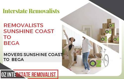 Removalists Sunshine Coast To Bega