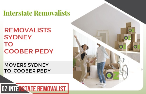 Removalists Sydney To Coober Pedy