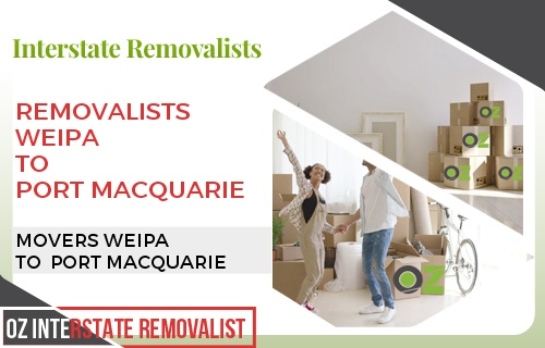 Removalists Weipa To Port Macquarie