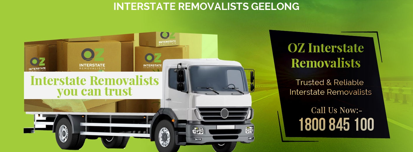 Interstate Removalists Geelong